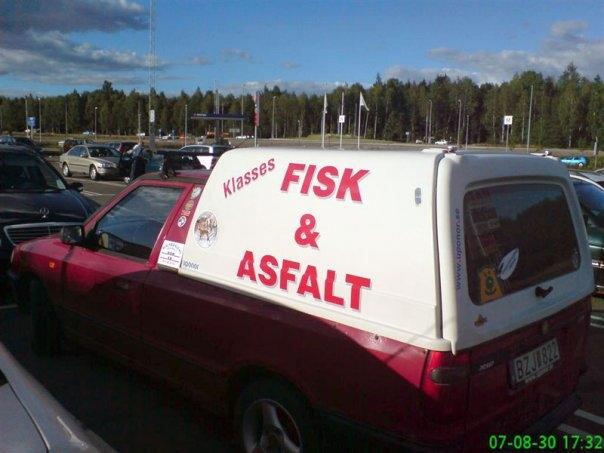 Fisk och asfalt, en ovanlig entrepenörskombination