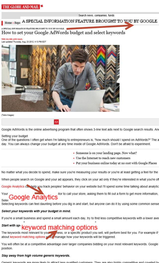 Google hykleri