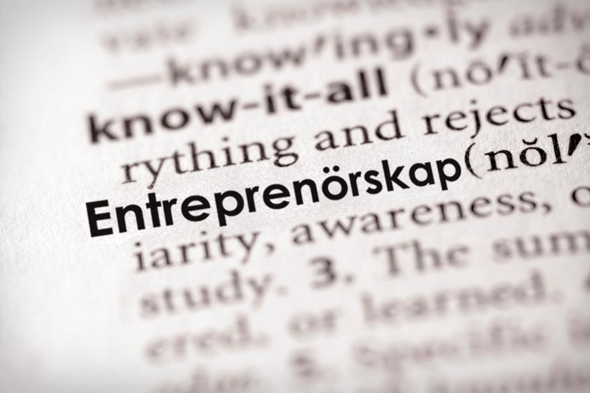 Entreprenörskap ordbok